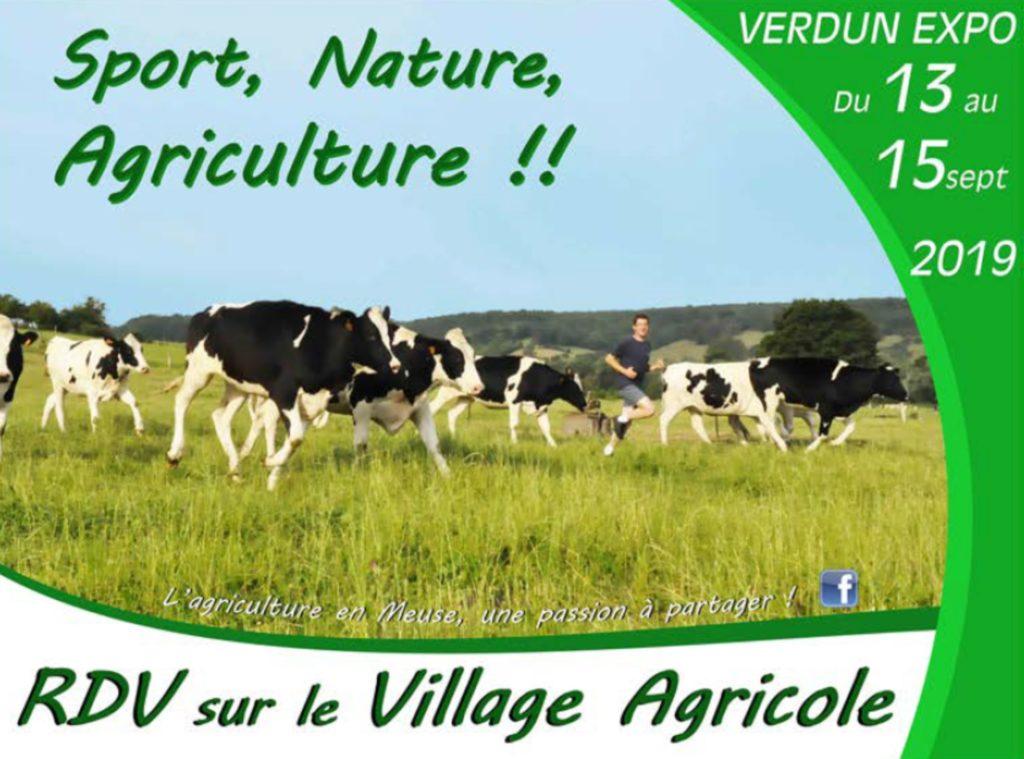 RDV à la Foire de Verdun sur le Village agricole